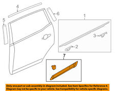 Lincoln FORD OEM 10-12 MKT Exterior-Rear-Side Molding Right AE9Z7425556A