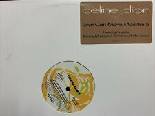 """CELINE DION LOVE CAN MOVE MOUNTAINS 12"""" 1992 epic EAS4740 DJ PROMO"""