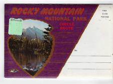 POSTCARD FOLDER-ROCKY MOUNTAIN NATIONAL PARK-CIRCLE ROUTE