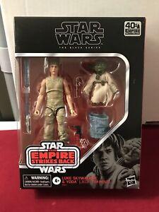 Star Wars Black Series Luke and Yoda (Jedi Training) 6-Inch Action Figure NIB