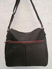 Magnifique sac à main  THE BRIDGE en toile et cuir  TBEG  bag  __