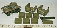 SCHAPER STOMPER WWII TANK AND BUNKER PARTS AND PIECES LOT