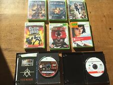 joblot 8 action games Xbox 360 Gears of War Turning Point Shadowrun Homefront