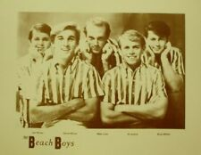 "The Beach Boys Poster Print - 1960s Group Photo - Wilson Bros. - 11""x14"" Sepia"