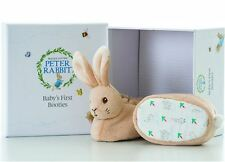 Beatrix Potter Peter Rabbit Baby First Booties Gift Set