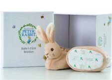 Beatrix Potter Peter Conejo Bebé Primeros Botines Conjunto de Regalo