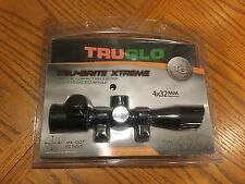 Tru-Glo TG8504TLN Tru-Brite Xtreme Tactical Rifle Scope 4x 32mm Red and Green