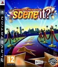 Scene It? Bright Lights! Leinwand (PS3 Spiel) * sehr guter Zustand *