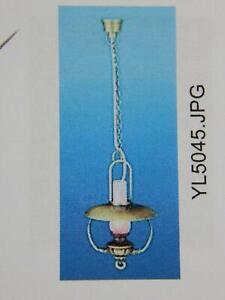 Heidi Ott Dollhouse Miniature Light 1:12 Scale Hanging  Lamp #YL5045-AG
