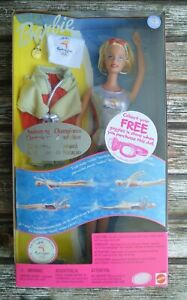 BARBIE SWIMMING CHAMPION SYDNEY OLYMPICS ULTRA RARE NEW BOXED COLLECTABLE DOLL!