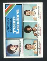 1975-76 Topps #280 Artis Gilmore/Louie Dampier NM/NM+ Kentucky Colonels Team Lea