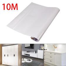 10M weiß Möbelfolie Hochglanz glänzend Glanz Klebefolie Küchenfolie Schrankfolie