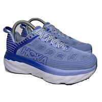 Hoka One One Bondi 6 Blue Running Athletic Shoes Women's Size 6.5