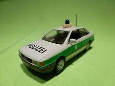GAMA  1178 AUDI 80 QUATTRO - POLIZEI - POLICE - WHITE 1:43 - VERY GOOD CONDITION