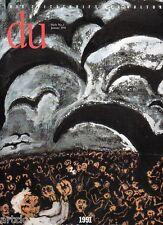 1991 Friedrich Dürrenmatt (70), Havel, Kunst, Kollaps, die Schweiz - DU januar