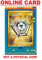 Metal Saucer - 214/202 Sword & Shield Secret Rare PTCGO Online Pokemon Card