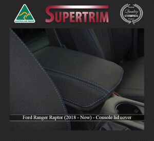 CONSOLE LID COVER for Ford Ranger Raptor PX3 (Sep18-Now) Premium Neoprene