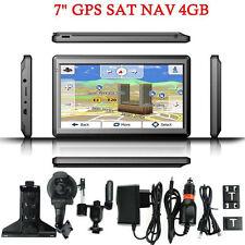 "2016 7"" Inch HD Car GPS Navigation 128RAM 4GB Navigator SAT NAV w/ Free US map"