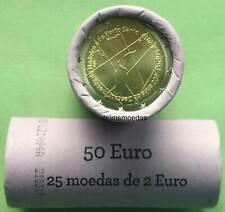 Portugal 2 Euro Rolle 2019 Madeira Porto Santo mit 25 x 2 Euro Gedenkmünzen roll