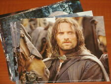 "Lord Of The Rings 'The Two Towers' Lot of 15 Photos (8"" x 10"") Aragon, Legolas,"