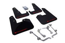 Rally Armor 2011-2014  STI/WRX Sedan Only UR Black Mud Flap w/ Red Logo