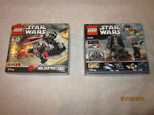 Lego Star Wars Series 4 Micro Fighters 75161 and 75163