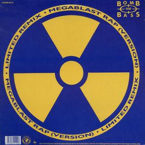 "2nd Hand Vinyl - 12"" -  Bomb The Bass – Megablast Rap / Don't Make Me Wait"