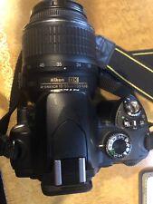 Nikon D D60 10.2MP Digital SLR Camera - w/ 18-55mm Lens + Sigma Lens