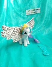 Mi Pequeño Pony G4 Brillo Con Alas Princesa Celestia Flutter MLP Juguete Raro