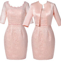 LADIES Mother of the Bride Dress Mother Wedding Suit+Outfit UK Size 4-18