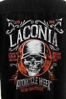 Laconia Biker Rally 95th Anniversary Mens XXL Sleeveless Heavy Cotton Shirt