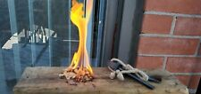 Fire starter- tinder- water resistant handmade wood shavings with paraffin