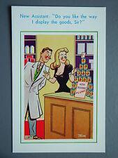 R&L Postcard: Brook Publishing Trow 11977 Corner Shop, Large Breast Assistant