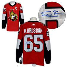 Erik Karlsson Ottawa Senators Autographed Adidas® Authentic Pro Hockey Jersey