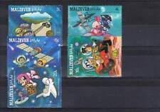 Serie Disney postfris MNH Maldives: Mickey Donald Goofy (dis091)