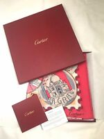 Cartier Les Portes cities print silk scarf for Marcello bag bow