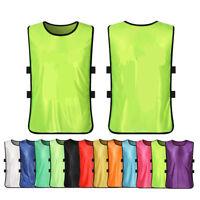 1PC Kids/Adult Sports Soccer Football Basketball Team Vest Training Bibs Pinnies