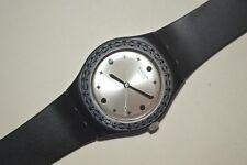 2008 Swatch Reloj Irony Mediano YLB1000 Tamizula Mujer Cuarzo Suizo Aluminio