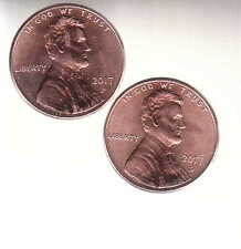 1959 to 2017 PD +1968-74S ~  2 LINCOLN CENT 128 coin SETS = 256 COINS  =$19/set