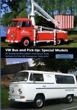 VOLKSWAGEN VAN BOOK ECCLES VW BUS CAMPER PICKUP SPECIAL BODY MODELS T1 T2 T3 T4