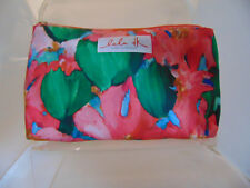 Clinique PINK TULIP   print make up bag - brand new -SALE