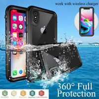Waterproof Dirtproof Snowproof Tough Armor Case for Apple iPhone X (Down to 6M)