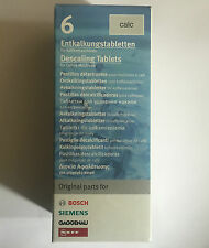 Bosch Siemens Neff Gaggenau Coffee Machine Descaler Descaling 6 Tablets 311556