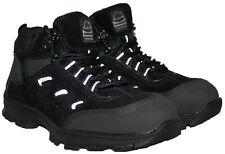 Da Uomo in Acciaio Toe-cap Neri Stringati passeggiate/escursioni trekking Work Boot Taglia 13