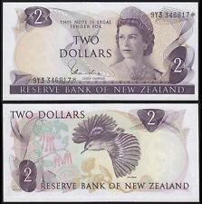 NEW ZEALAND 2 DOLLARS HARDIE (P164dr) QEII * REPLACEMENT AU/UNC