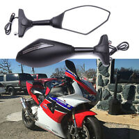 Motorcycle Arrow LED Turn Signals Mirrors For Suzuki GSXR 600 750 1000 Hayabusa