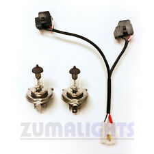 Yamaha Zuma 125 Dual Headlight Wiring Harness w/ 45/45w bulbs - 2009-2015 - kit