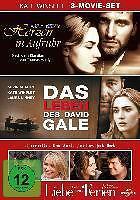 Herzen in Aufruhr / Leben des David Gale / Liebe braucht keine Ferien DVD NEU