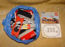 Set LEGO: TRENO: 4.5V: 7722-1 cargo treno a vapore, batteria (1985) con istruzioni
