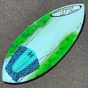 "NEW Wave Zone Surge 46"" Fiberglass Skimboard - BLEM"